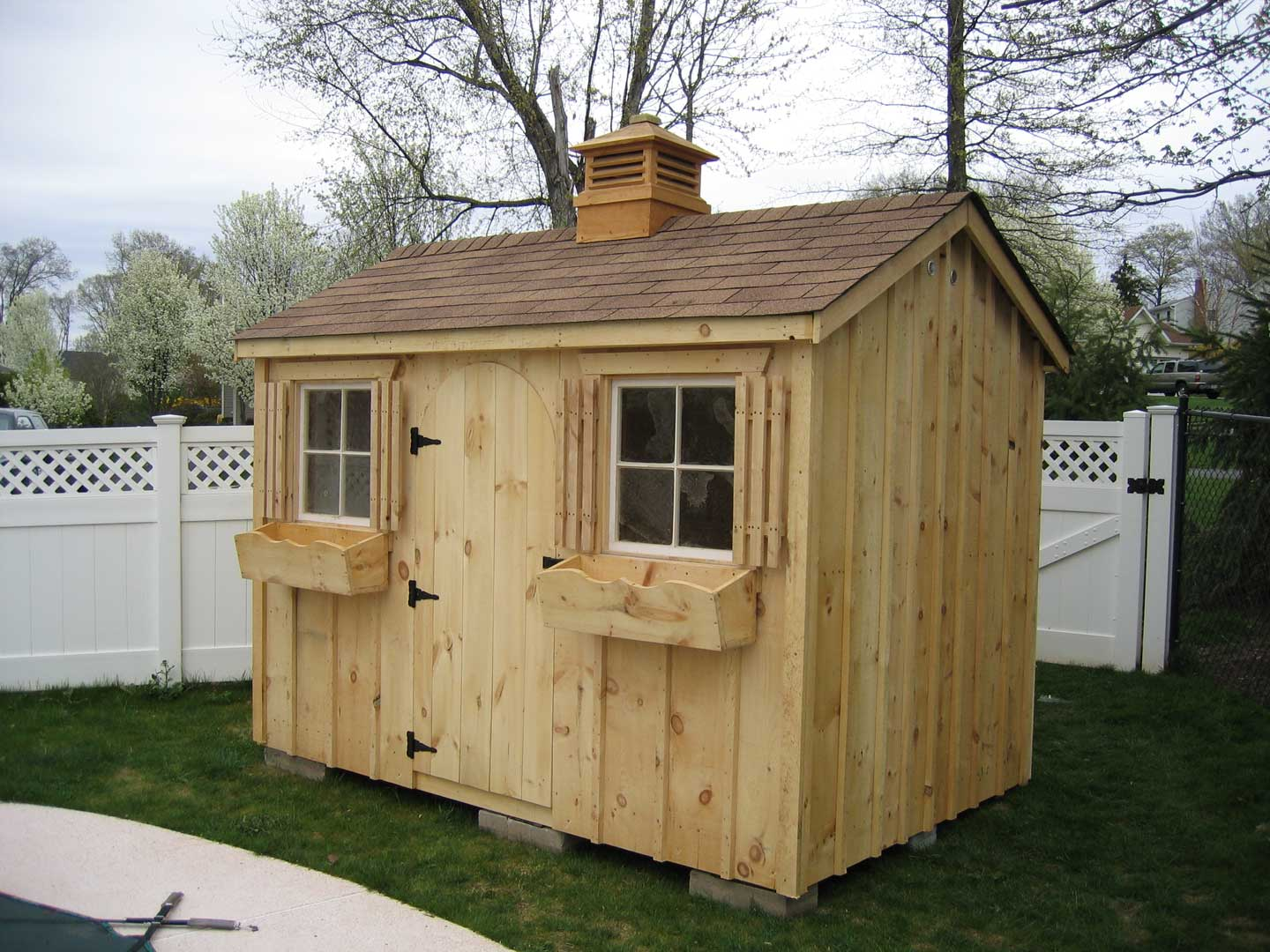 Sheds And Baby Barns Fesco Fence